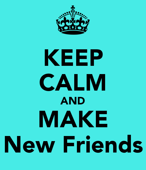 want to be friends