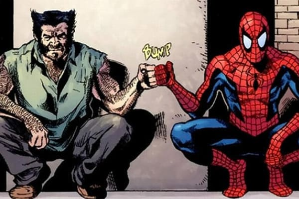wolverine spiderman fist bump.jpg
