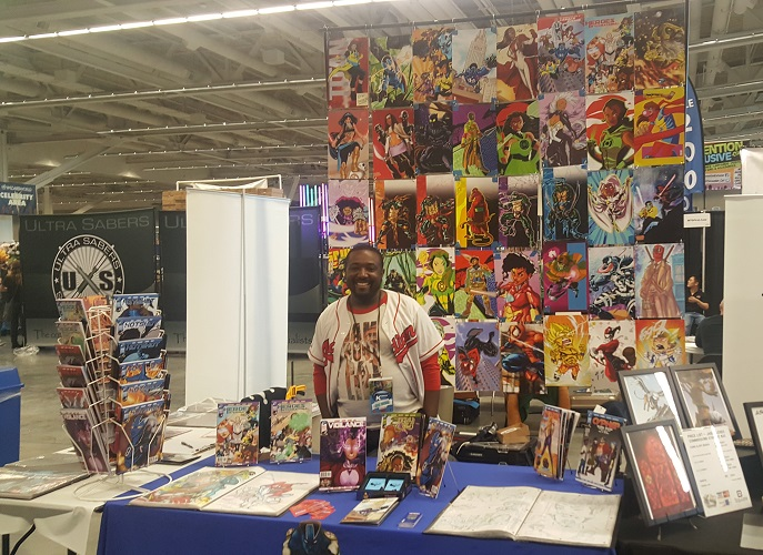 Mike Watson's booth
