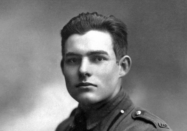 young ernest hemingway